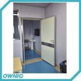 Puerta de acero del sitio de puerta interior de la puerta para el hospital (escoger abierto)