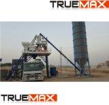 Tipo de procesamiento por lotes móvil Planta mezcladora de cemento