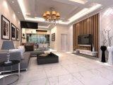Fußboden beendet Badezimmer-Esszimmer-Wand-weißen Keramikziegel