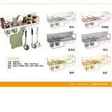 Guida di alluminio di doppio strato di Kitchent di garanzia della qualità (C217D)