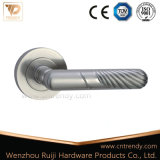 Goden lustrou os punhos de alavanca de alumínio da porta do zinco em Rosa (Z6026-ZR05)