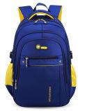 Das crianças personalizadas do logotipo do saco de ombro do dobro da grande capacidade trouxa do Schoolbag