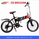 Mini bicicleta elétrica popular de Fodable fácil ao armazenamento