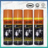 Insectes de bombe insecticide de jet de tueur de moustique de la Chine Facotry de famille