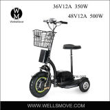 Wellsmove 3 바퀴 전기 Trike 스쿠터 36V 350W 납축 전지