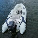 Barco inflável rígido do barco 380 do reforço de Liya com motor externo