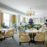Conjunto del sofá de la sala de estar del hotel del sofá de madera sólida