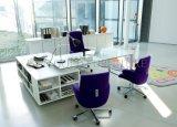 Disposição de projeto moderno com a mesa de escritório executivo de madeira da biblioteca (SZ-OD200)