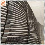 Alambre de acero inoxidable flexible de malla de cable o cuerda malla Gargen valla