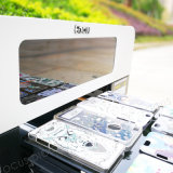 Het Geval van de telefoon Plastic Identiteitskaart Digitale UV Flatbed Printer