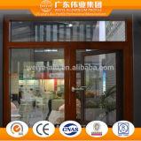 Doppia finestra di alluminio lustrata classica della stoffa per tendine