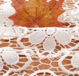 Iarda bianca del merletto di vendita calda per il tessuto del merletto degli accessori per il vestiario del mestiere di DIY