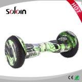 10 vespa eléctrica de 2 ruedas de la pulgada SUV de Hoverboard del equilibrio elegante del uno mismo (SZE10H-2)