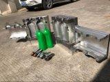Le HDPE met la machine en bouteille de soufflage de corps creux d'extrusion de bidons de Jerry de conteneurs