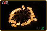 LED-feenhafte Zeichenkette-Weihnachtslichter mit weißer LED auf kupfernem Draht