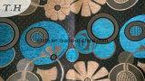 Серебристый Пряжа полиэфирная пленка с блестящей поверхностью из жаккардовой ткани (Chenille fth31888)