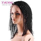 Parrucca non trattata di vendita calda della parte anteriore del merletto dei capelli umani di densità di 180%