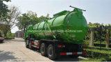하수 오물 진창 수송 트럭 25 톤 Mire 탱크 HOWO