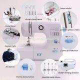 Macchina per cucire di vendita calda Fhsm-700 della mini famiglia tenuta in mano portatile di Overlock del prodotto