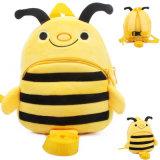 A trouxa animal do luxuoso da abelha caçoa o saco de escola