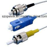 Connettore ottico FC-PC della fibra per il cavo di zona ottico
