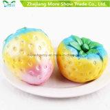Het Toenemen 10cm van Squishy van de Aardbei van de Regenboog van Kawaii het Langzame Jumbo Leuke Gebemerkte Kleurrijke Stuk speelgoed van de Pret van het Jonge geitje van de Cake van het Brood