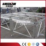 TUVsgs-Durchlauf-preiswertes bewegliches rotes Stadiums-/Portable-Tanz-Aluminiumstadium