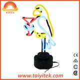 Do papagaio Handmade de Margarita da câmara de ar de vidro do presente do Natal de Hotselling lâmpada de néon
