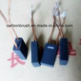 Balai de charbon de graphite de la qualité CH33N pour le générateur de machine de la colle
