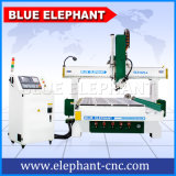青い象1325木製の働くCNCのルーター機械