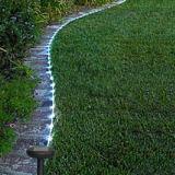 7m 50 voyants LED solaire corde Feux de fée de chaîne de tube étanche extérieur décor Garden Party de Noël lumières
