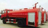 4X2 Dongfeng 물 유조선 소방차 트럭 텐더 10000 리터 물