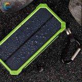 Caricatore esterno di Pank di energia solare del Portable 10000mAh