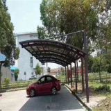 Dossel do carro de Morden/toldo /Car do carro vertido/Carport porta de carro com frame da Alu-Liga de Bayer Polycarbonate&