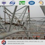 Sinoacme ha prefabbricato il centro sportivo del tetto del fascio del tubo