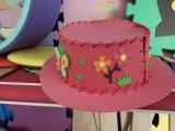 파티광 동물원 EVA 거품 챙 모자와 모자