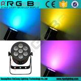 7X10W RGBW 4in1か白いクリー族LEDのアルミニウム段階の同価はつくことができる