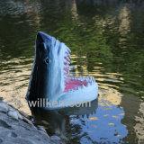 Garden Park декор полимера акула скульптура головки блока цилиндров с плавающей запятой по водным ресурсам