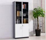 Étagère de Bureau du Cabinet de fichier bibliothèque avec porte en verre de mobilier de bureau