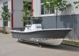 Liya 19ft 25 pies de fibra de vidrio de yates de pesca barcos de pesca barcos de Panga