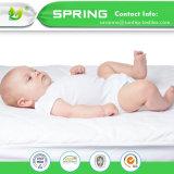 Niño ajustado talla del bebé del protector de la cubierta de colchón del pesebre