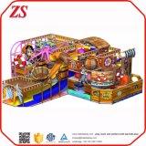 Parque de interior del patio de pirata de los cabritos de la nave de los juegos suaves del juego para los niños