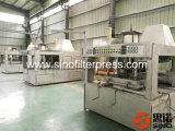 Máquina automática hidráulica de la prensa de filtro del compartimiento de los PP para las bebidas