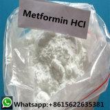 Alimentation Facotry 99% de pureté chlorhydrate de metformine poudre 1115-70-4 pour le diabète