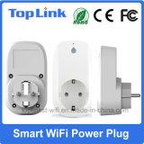 Contactdoos van de Macht WiFi van het Type E/F van EU van lage Kosten de Slimme met APP voor het Elektronische Apparaat van het Lokale/Huis van de Afstandsbediening