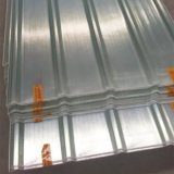 Hoja acanalada resistente a la corrosión del material para techos del plástico reforzado fibra de vidrio de FRP GRP