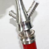 Zink-Legierungs-materielle Huka-Wasser-Rohr GlasShisha Pfeife-Glaswasser-Rohr-Glaspfeife-elektronische Zigarette mini elektronische Cigarett Huka Shisha