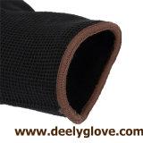 Fonctionnement enduit par paume noire d'unité centrale noire de nylon/polyester
