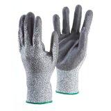 Перчатки отрезока белизны