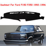 Voar5d Dashmat para Ford Truck F150 F250 1992-1996 da tampa do painel de bordo em preto mate